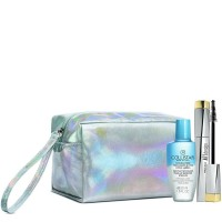 COLLISTAR MASCARA ART DESIGN BLACK 2019 + TWO-PHASE REMOVER 50ML+ REFLECTING POUCH (SILVER)