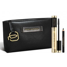 COLLISTAR MASCARA VOLUME UNICO BLACK 11ml + PROFESSIONAL EYE PENCIL BLACK 1ml + SMALL POUCH