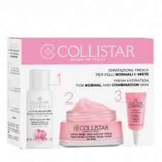 COLLISTAR FRESH MOISTURIZING GELEE CREAM 30ml + 3 in1 MICELLAR MILK 35ml + EYE HYDRO-GEL 5ml
