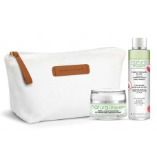 COLLISTAR EXTRAORDINARY INFUSION-CREAM 50ml+TWO-PHASE MICELLAR WATER 150ml+PIQUADRO ECO POUCH