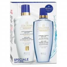 COLLISTAR ANTI-AGE CLEANSING MILK 400ml + ANTI-AGE TONING LOTION 200ml for free