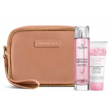 COLLISTAR PROFUMO DELL'AMORE 100ml+DOCCIA CREMA DELL'AMORE 50ml+BIG POUCH Beige/Blush