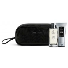 COLLISTAR ACQUA ATTIVA EDT 50ml+SHOWER-SHAMPOO 50ml+THE BRIGLE MAN TRAVEL BAG Black