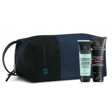 COLLISTAR TOTAL MOISTURE NON-STOP 24H 75 ml + SHOWER SHAMPOO 3IN1 100ml + TRAVEL BAG PIQUADRO BLU