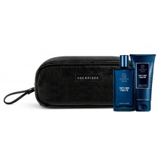 COLLISTAR VETIVER FORTE EDT 50 ml + SHOWER-SHAMPOO 50 ml + THE BRIGLE MAN TRAVEL BAG Black