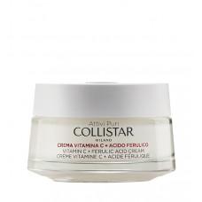 COLLISTAR ATTIVI PURI VITAMIN C + FERULIC ACID CREAM Brightening antioxidant 50 ml