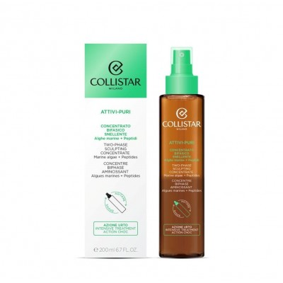 COLLISTAR PURE ACTIVES TWO-PHASE SCULPTING CONCENTRATE MARINE ALGAE + PEPTIDES 200ML