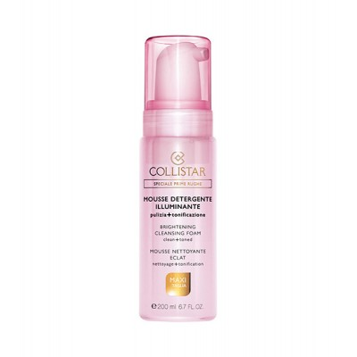 COLLISTAR BRIGHTENING CLEANSING FOAM 200 ml