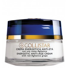 COLLISTAR TESTER ENERGETIC ANTI-AGE CREAM with red aglianico grape 50ml
