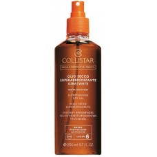 "COLLISTAR SUPERTANNING ""DRY"" OIL, SPF 6 200 ml"
