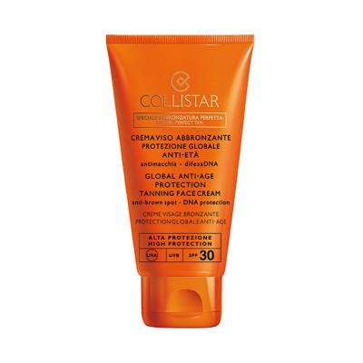 COLLISTAR GLOBAL ANTI-AGE PROTECTION TANNING FACE CREAM 50 ml