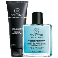 COLLISTAR UOMO KIT HYDRO-GEL DOPOBARBA 100ML + REGALO GEL DOCCIA TONIFICANTE 100ML