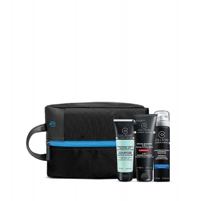 COLLISTAR TOTALE NON-STOP 24H 75 ml + SCHIUMA da BARBA PS 75 ml + DOCCIA-SHAMPOO 3 in1 100 ml