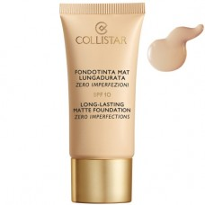 COLLISTAR LONG-LASTING MATTE FOUNDATION ZERO IMPERFECTIONS oil-free - SPF 10