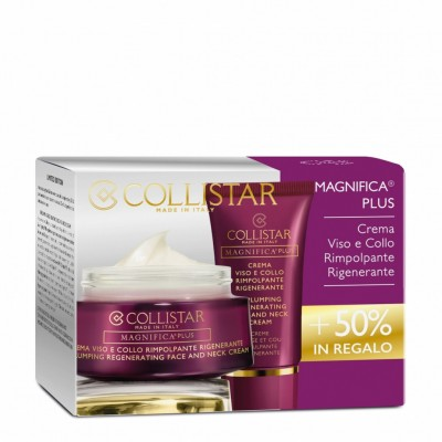 COLLISTAR PROMO REPLUMPING REGENERATING FACE CREAM 50ML + 25ML TUBE FREE GIFT