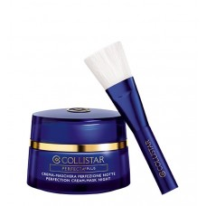 COLLISTAR PERFECTION CREAM-MASK NIGHT 50 ml with professional brush