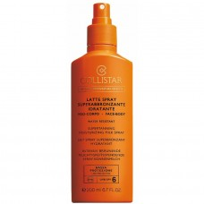 COLLISTAR SUPERTANNING MOISTURIZING MILK SPRAY SPF 6 200 ml
