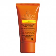COLLISTAR INTENSIVE ULTRA-RAPID SUPERTANNING FACE TREATMENT SPF6 50ML