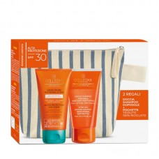COLLISTAR ACTIVE PROTECTION SUN CREAM SPF30 150ML + AFTER SUN SHOWER SHAMPOO 150ML + POUCH