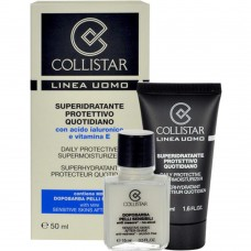 COLLISTAR DAILY PROTECTIVE SUPERMOISTURIZER 50ml + SENSITIVE SKINS AFTER-SHAVE 15ml