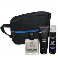 COLLISTAR DOPOBARBA PELLI SENSIBILI 100 ml+GEL DOCCIA 100 ml+SCHIUMA DA BARBA 75ml+TRAVEL BAG