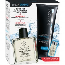COLLISTAR KIT LOZIONE DOPOBARBA TONIFICANTE 100ml + SHAMPOO ANTICADUTA 100ml + CONCENTRATO ANTICADUTA 6ml