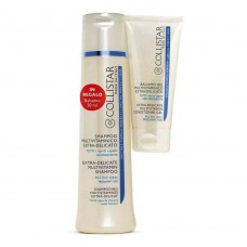 COLLISTAR KIT SHAMPOO MULTIVITAMINICO EXTRA-DELICATO 250ml + BALSAMO-GEL MULTIVITAMINICO 50ml