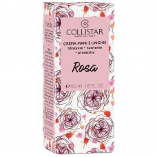 COLLISTAR HAND AND NAIL CREAM MOISTURIZING - NOURISHING - PROTECTING with ROSE 50ML