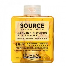 L'OREAL PROFESSIONNEL SOURCE ESSENTIELLE JASMINE FLOWERS & SESAME OIL NOURISHING SHAMPOO 300ML