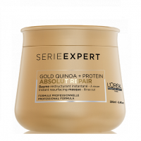 L'OREAL PROFESSIONNEL ABSOLUT REPAIR GOLD QUINOA + PROTEIN Instant Resurfacing Mask 250ml