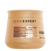 L'OREAL PROFESSIONNEL ABSOLUT REPAIR GOLD QUINOA + PROTEIN Resurfacing Golden Mask 250ml