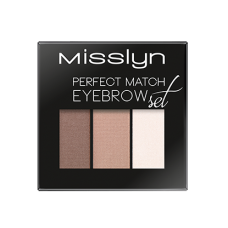 MISSLYN PERFECT MATCH EYEBROW SET