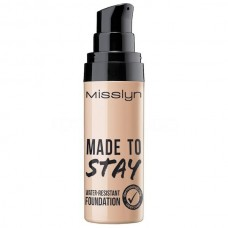 MISSLYN MADE TO STAY WATER-RESISTANT FOUNDATION