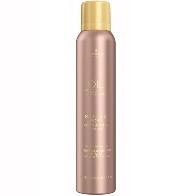 SCHWARZKOPF BC OIL ULTIME MARULA & ROSE Light Oil-In-Mousse Treatment 200ml