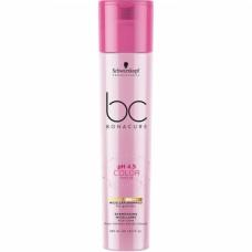 SCHWARZKOPF BC COLOR FREEZE pH 4.5 Gold Shimmer Micellar Shampoo 250ml