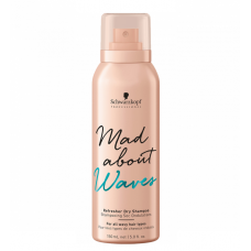 SCHWARZKOPF BC MAD ABOUT WAVES REFRESHER DRY SHAMPOO 150ML