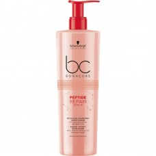 SCHWARZKOPF BC PEPTIDE REPAIR RESCUE Micellar Cleansing Conditioner 500ml