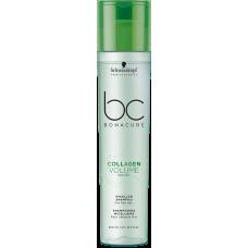 SCHWARZKOPF BC COLLAGEN VOLUME BOOST Micellar Shampoo (for fine hair) 250ml