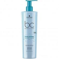 SCHWARZKOPF BC HYALURONIC MOISTURE KICK Micellare Shampoo 500ml