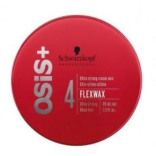 SCHWARZKOPF OSIS+ FLEXWAX Ultra Strong Cream 85 ml