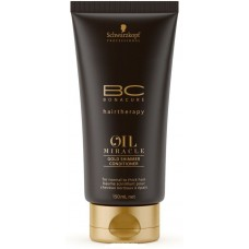 SCHWARZKOPF BC OIL MIRACLE Gold Shimmer Conditioner (for normal to thick hair) 150ml