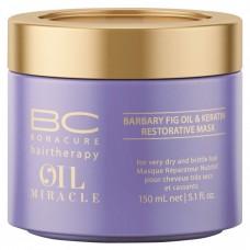 SCHWARZKOPF BC OIL MIRACLE Barbary Fig Oil & Keratin Restorative Treatment 150ml