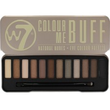 W7 EYE COLOUR PALETTE COLOUR ME BUFF 15,6g