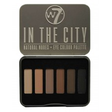 W7 EYE COLOUR PALETTE IN THE CITY 7g