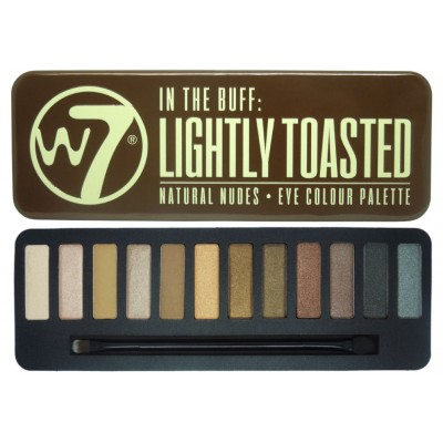 W7 EYE COLOUR PALETTE LIGHTLY TOASTED 15,6g