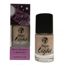 W7 MATTE  HIGHLIGHTER & ILLUMINATOR NIGHT LIGHT 13ml