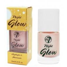 W7 HIGHLIGHTER & ILLUMINATOR NIGHT GLOW 10ml