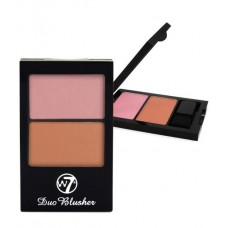 W7 DUO BLUSHER POWDER 3G