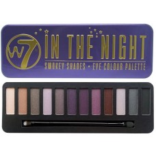W7 EYE COLOUR PALETTE IN THE NIGHT - UP IN SMOKE - 15,6g