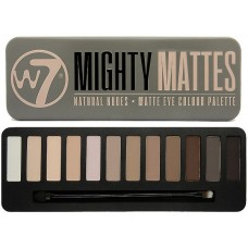 W7 EYE COLOUR PALETTE MIGHTY MATTES 15,6g